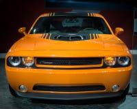 Dodge utmanare Hemi Royaltyfria Bilder