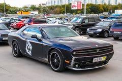 Dodge utmanare Hennessey HPE650 Royaltyfri Bild