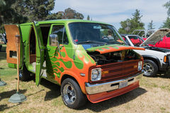Dodge Van b-110 sur l'affichage Image stock