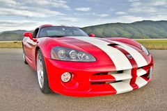Dodge-Viper Lizenzfreie Stockfotos
