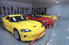 Dodge Viper collection Stock Image