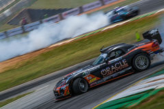 Dodge Viper Drifting Stock Photo