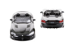 Dodge Viper RT10 Toy cars Front Pear Royalty Free Stock Image