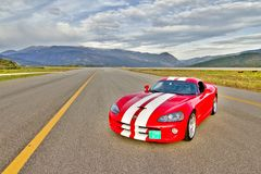 Dodge Viper Stock Photo