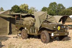 Dodge weapons carrier Stock Image