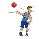 Dodgeball! Royalty Free Stock Images