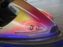 Dodgem bumper fairground car Stock Photo