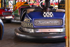 Dodgem Cars Stock Photo