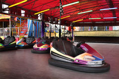 Dodgem cars. Royalty Free Stock Image
