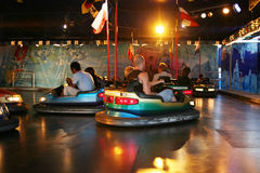 Dodgem cars Royalty Free Stock Image
