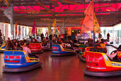 Dodgem Cars at Basel Herbstmesse Stock Photography