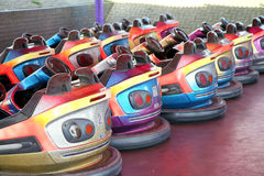 Dodgem cars. Stock Images