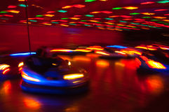 Dodgem Cars at the Fun Fair Royalty Free Stock Images
