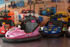 Dodgem Cars Stock Photos