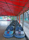 Dodgem entertainment cars in park royalty free stock photo