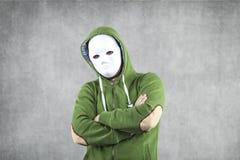 Dodger in der Maske stockfotografie