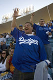Dodger fans Royalty Free Stock Photo