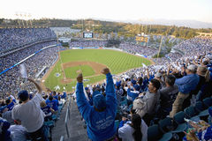 Dodger fans Royalty Free Stock Images