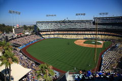 Dodger-Stadion - Los Angeles Dodgers Stockbilder