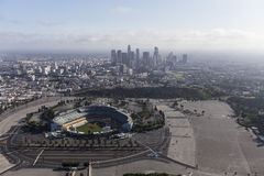 Free Dodger Stadium And Downtown Los Angeles Royalty Free Stock Photo - 90891755