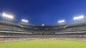Dodger Stadium et L a Towndown photos libres de droits