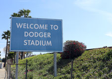 Dodger Stadium Royalty Free Stock Photography