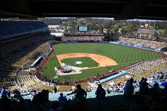 Dodger Stadium - Los Angeles Dodgers Stock Images