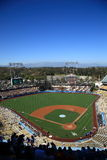 Dodger Stadium - Los Angeles Dodgers. Dodger Stadium on a sunny day in Los Angeles before a baseball game Stock Photography
