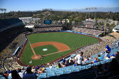 Dodger Stadium - Los Angeles Dodgers Royalty Free Stock Photos