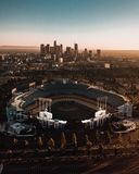 Dodgers stadium royalty free stock images