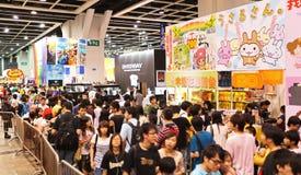 dodicesimi Ani-COM & giochi Hong Kong Fotografie Stock Libere da Diritti