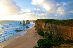Dodici apostoli Australia Fotografia Stock