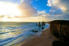 Dodici apostoli Australia Immagine Stock