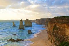 Dodici apostoli Australia Fotografia Stock Libera da Diritti