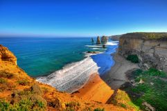 Dodici apostoli in Australia Fotografia Stock Libera da Diritti