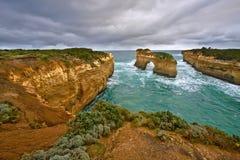 Dodici apostoli, grande strada dell'oceano Fotografie Stock Libere da Diritti