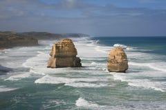 Dodici apostoli, grande strada dell'oceano Fotografie Stock