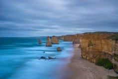 Dodici apostoli, grande strada dell'oceano Immagine Stock Libera da Diritti