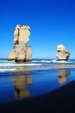 Dodici apostoli sulla grande strada dell'oceano Fotografia Stock Libera da Diritti