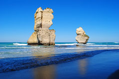 Dodici apostoli sulla grande strada dell'oceano Fotografie Stock