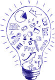 Dodle, Accounting. Doodle sthand draw sketch, Accounting & Finance Symbol at Bulb Stock Images