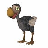Dodo 3d cartoon Royalty Free Stock Images