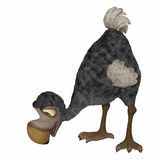 Dodo 3d cartoon Royalty Free Stock Photos