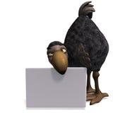 Dodo-pájaro muy divertido de Toon ilustración del vector