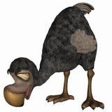 dodo toon иллюстрация вектора