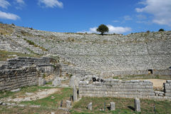 Dodona, ancient Greece oracle site Stock Images