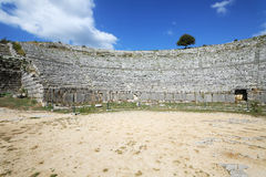 Dodona, first oracle site in Ancient Greece Stock Photos