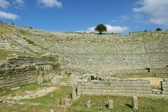 Dodona, site d'oracle de Grèce antique Image libre de droits