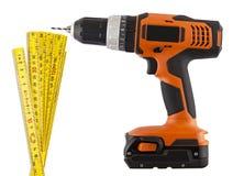 Doe het zelf, de hulpmiddelen van de bouwreparatie Stock Afbeelding