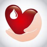 Doe o sangue Imagem de Stock Royalty Free